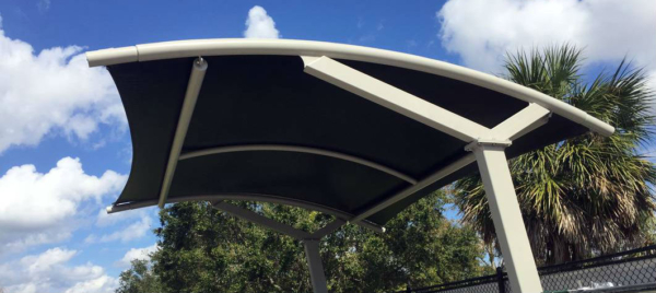 Orlando Skate Park Shade Sail Structures