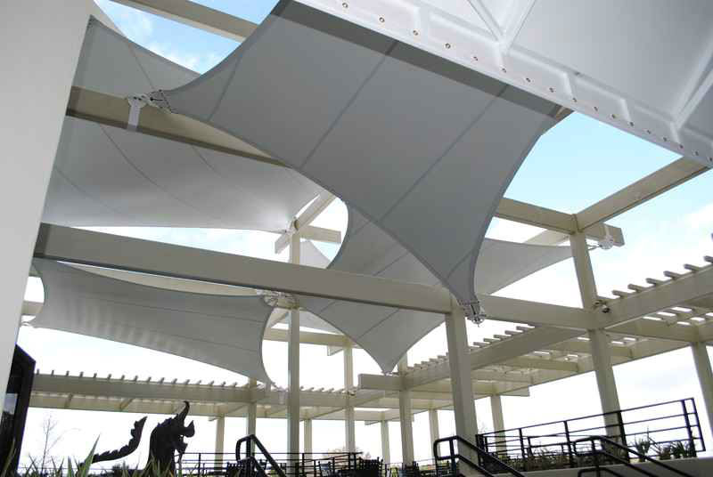 Main Shade Sail Structure Hyatt