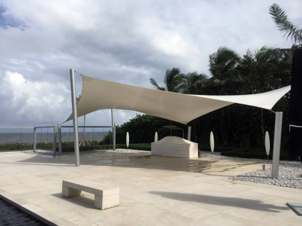 Jupiter Island Shade Sail